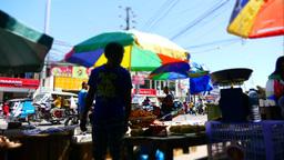 Life on Street in Puerto Princesa Footage