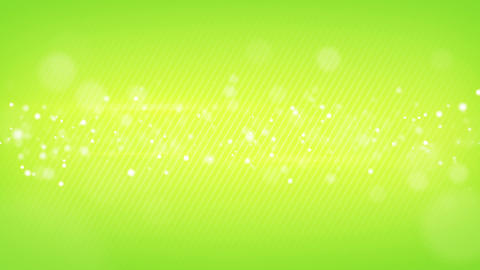 glowing bokeh circles green loop background shallow DOF Animation