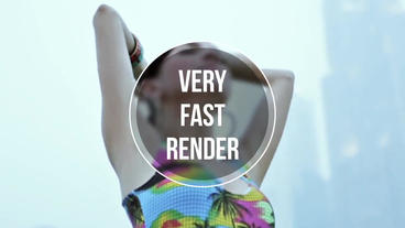 Fast Slideshow After Effects Template