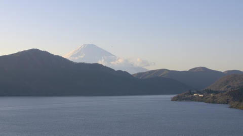 Mt.Fuji and Lake Ashinoko,in Hakone,Japan,Filmed in 4K ビデオ