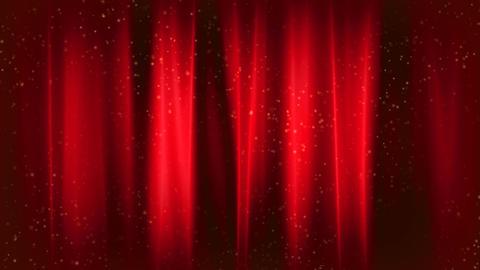 Elegant Curtains 2 stock footage