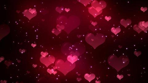 Hearts Background 1 Animation