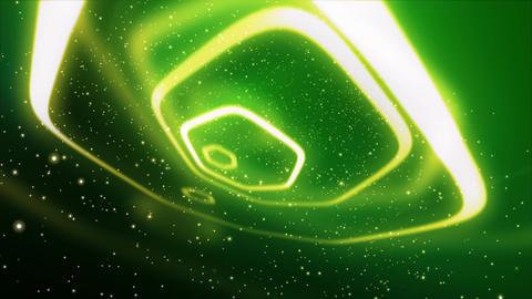 Neon Polygon Lights 1 Stock Video Footage