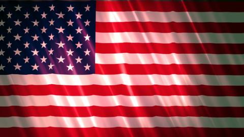 United states of America Flag 2 Animation