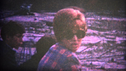(8mm Vintage) Niagra Falls Dewatered August 1969 Footage