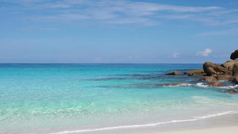 seychelles beach Stock Video Footage