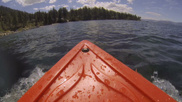 Kayak POV Adventure Land Ahoy Footage