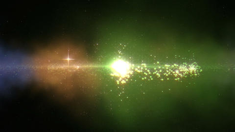 Galaxy Birth & FLY INTO SUN 2 Nebula Animation