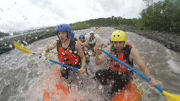 Whitewater Rafting Footage