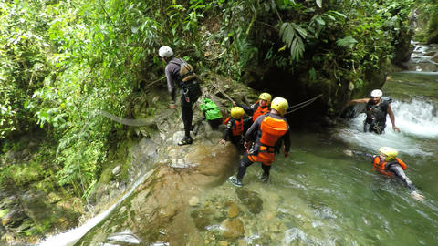 Canyoning Adventure Footage