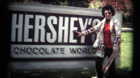 (Super 8 Film) Hershey Chocolate Visit 1974 Footage