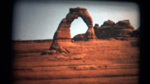 (Super 8 Film) Utah Delicate Arch Monument 1966 Footage