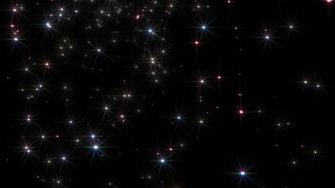 Star Particle A Ja 4 K CG動画