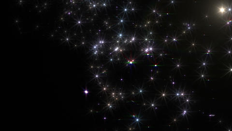 Star Particle B Jb 4 K CG動画