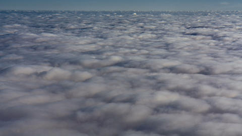 clouds view from above 영상물