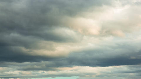 stormy clouds Stock Video Footage