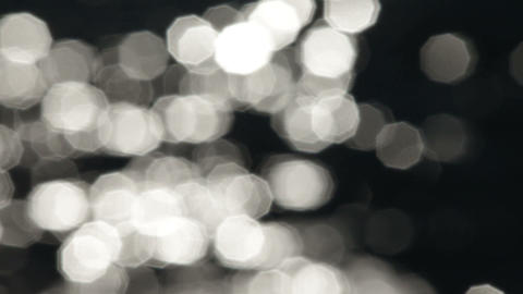 Shining Light Bokeh stock footage