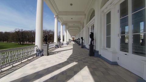 Cameron gallery. Pushkin. Catherine Park. Tsarskoye Selo Live Action