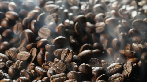 Roasting of coffee beans Footage