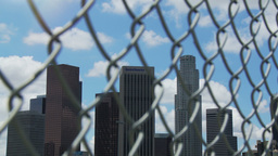 Fenced In Los Angeles Time-lapse Footage