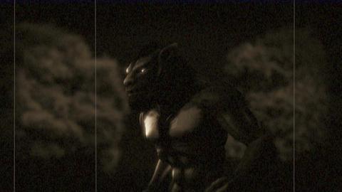 Werewolf Transformation (Vintage Look) Animation