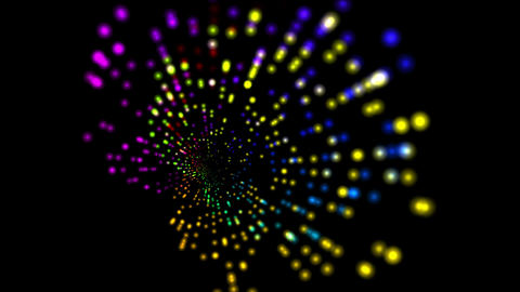 4k Abstract rotation ray light,web tech background.point pattern tech element Live Action