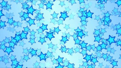 Falling Stars Animation - Loop Blue Animation