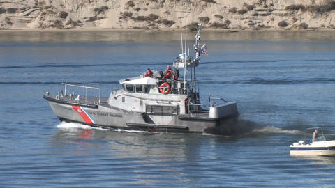 Coast Guard Ship Footage