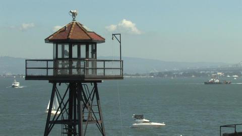 Alcatraz Watch Tower Footage