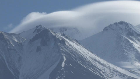 Mount Shasta Stock Video Footage