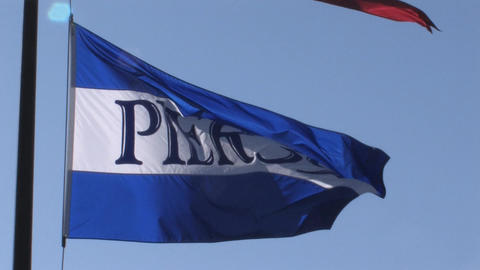 Pier39 Flag Stock Video Footage