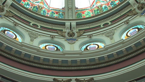 Courthouse Stain Glass and Decor Live Action
