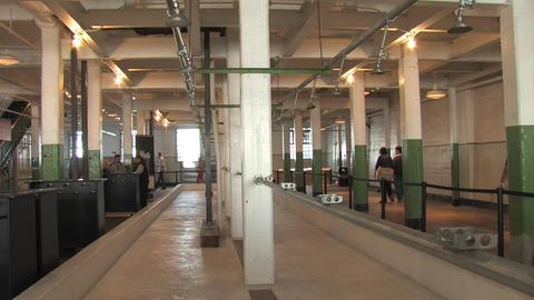 Alcatraz Showers Stock Video Footage