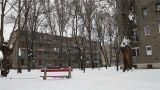Snowy Suburb 03 Footage