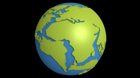 continental drift 11 Stock Video Footage