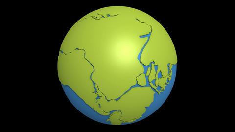 continental drift atlantic Stock Video Footage