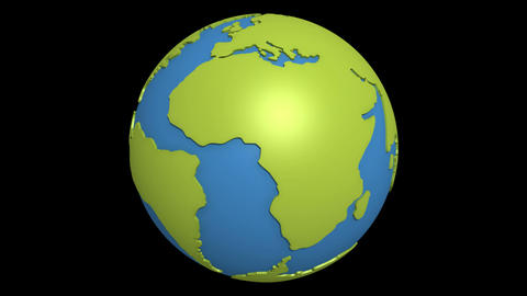 continental drift atlantic Animation