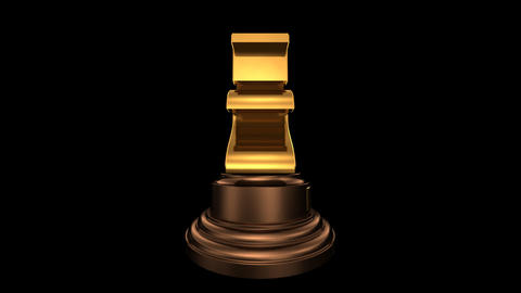 Number Trophy Top 20 HD Stock Video Footage