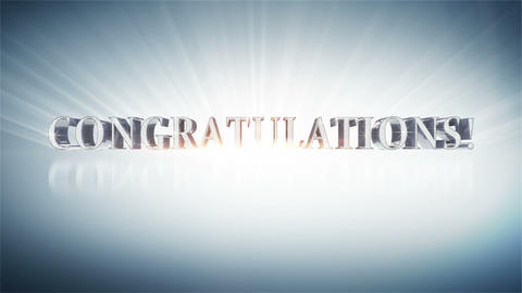CONGRATULATIONS! Animation