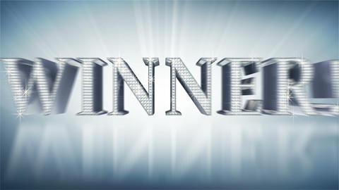 diamond WINNER! Stock Video Footage