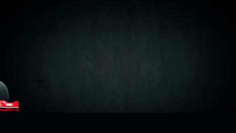 Racecar Stock Video Footage