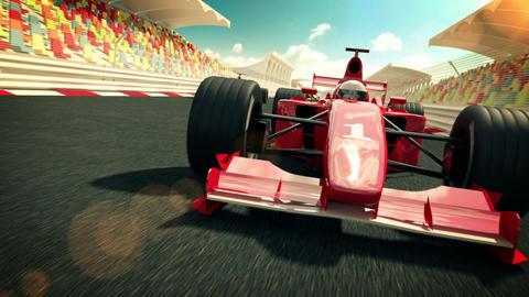 Racecars Stock Video Footage