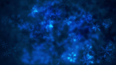 Snowflakes background Animation