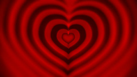 Love hearts Stock Video Footage