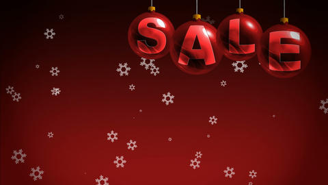New Year sales Stock Video Footage
