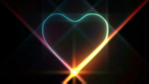 Heart Particle Animation
