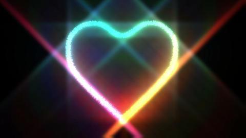 Heart Particle CG動画