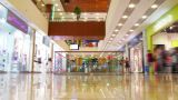 multilevel shopping mall, time lapse Footage