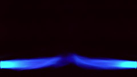 10637 horizontal gas flame background loop Stock Video Footage