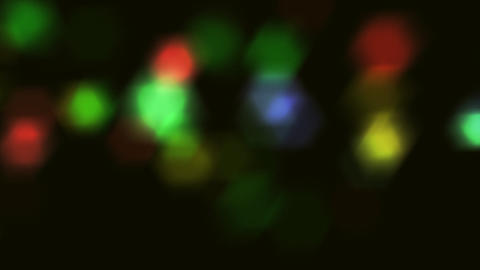 color sparkles close up Stock Video Footage